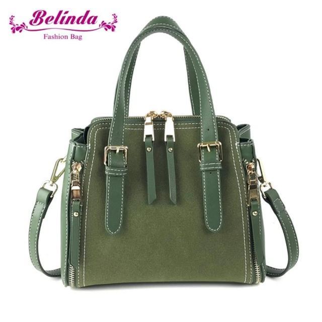 【Belinda】雪绒花手提侧背包-三色