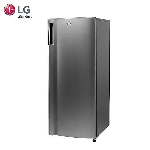 【登記送DC扇★LG 樂金】SMART 變頻單門冰箱 精緻銀/ 191公升(GN-Y200SV)