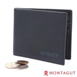 【MONTAGUT 夢特嬌】Cole 柯爾系列 - 頭層牛皮短夾(8卡)