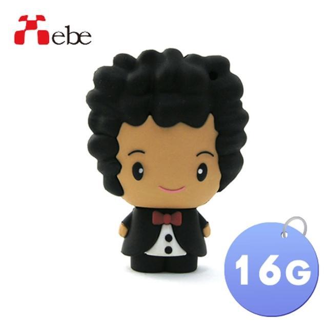 【Xebe集比】婚禮新郎造型隨身碟16G(造型USB送禮學生必備)/