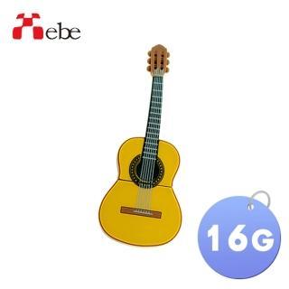 【Xebe集比】吉他造型隨身碟16G