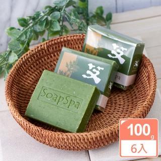 【SOAPSPA】艾草平安皂(6入特惠組)