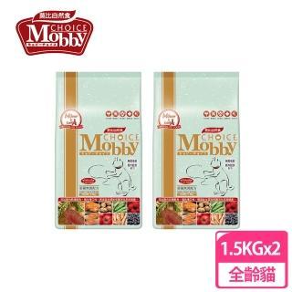 【Mobby 莫比】愛貓無穀配方鹿肉鮭魚3kg