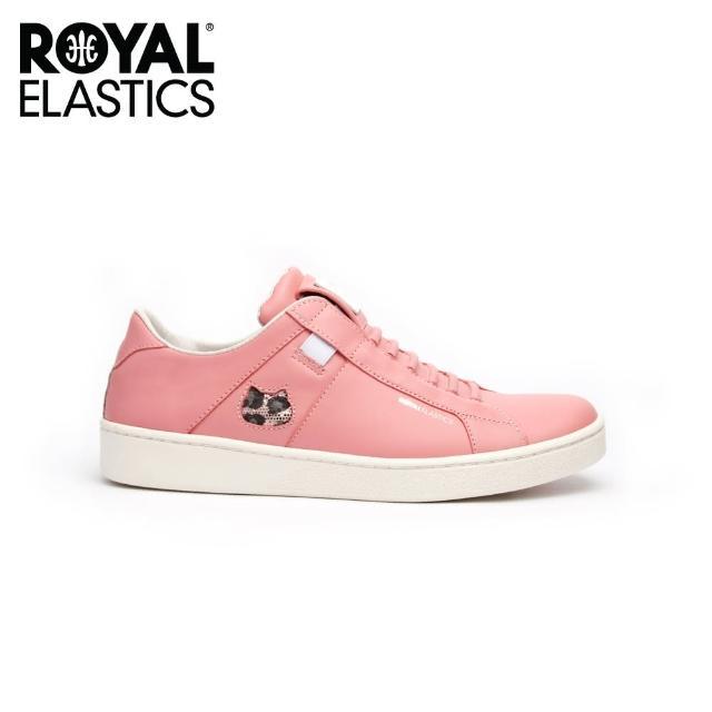 【ROYAL Elastics】女-Icon Catwalk 時尚休閒鞋-蜜桃粉(92982-111)