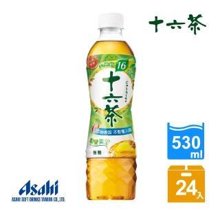 【十六茶】530ml-24入(零咖啡因、嚴選十六種健康素材)