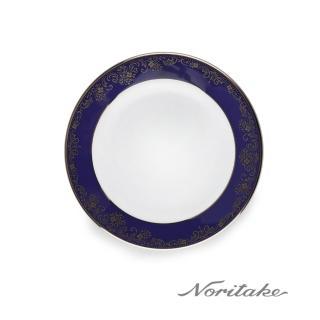 【NORITAKE】藍色樂章點心盤16cm(日本皇室御用瓷器品牌)