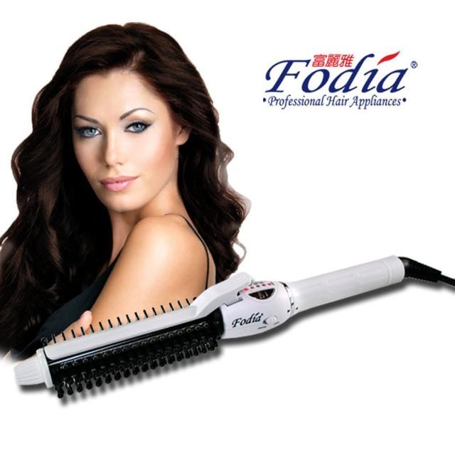 【FODIA 富麗雅】第三代360度夾片捲髮梳(25mm)
