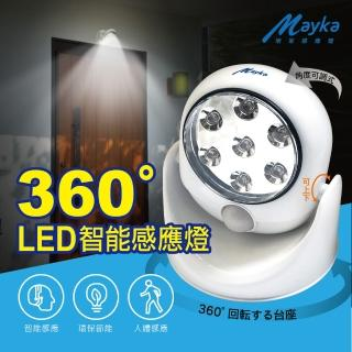 【Mayka】LEDx7紅外線自動感應燈(感應燈)