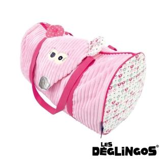 【Les Deglingos】立體玩偶旅行側背包、周末休閒包-老鼠(COQUELICOS)