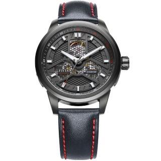 【FIYTA 飛亞達】極限系列機械腕錶(WGA1008.BBB)