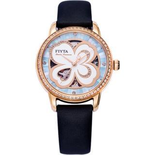 【FIYTA 飛亞達】四葉草系列機械腕錶(LA862005.PNBD)