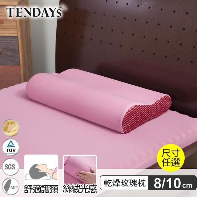 【TENDAYS】玩色柔眠記憶枕(乾燥玫瑰