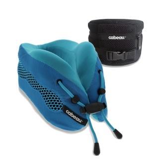 【CABEAU】酷涼記憶棉頸枕2.0-沁藍