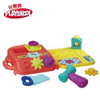 【PlaySkool兒樂寶】小工具手提箱遊戲組