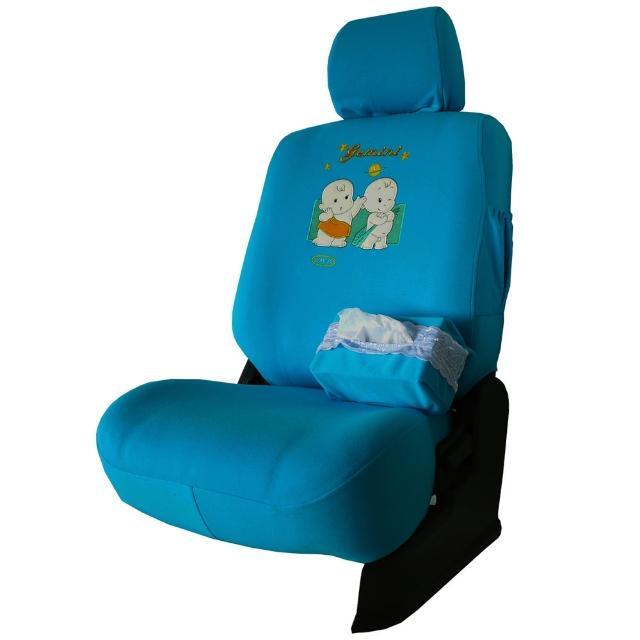 【葵花】量身訂做-汽車椅套-布料-萊卡雙童(休旅車款第1排+第2排)