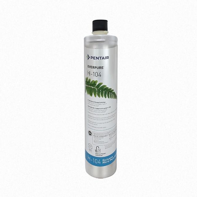 【EVERPURE 愛惠浦】濱特爾 EVERPURE H104 強效抑垢濾心-平行輸入(強效抑垢)