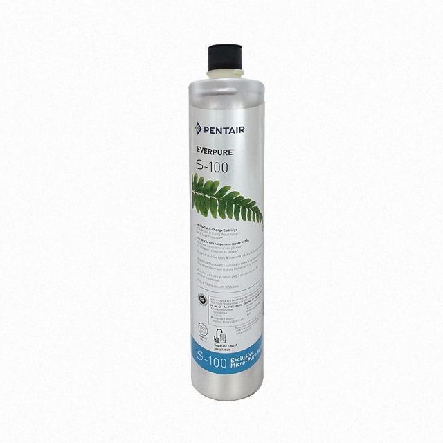 【EVERPURE 愛惠浦】濱特爾 EVERPURE S100 家用標準濾心-平行輸入(除異色異味)