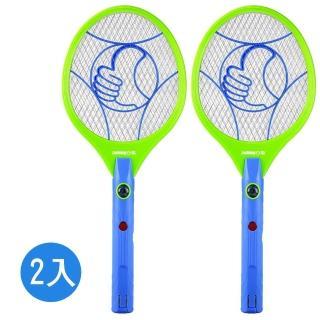 【zushiang 日象】一擊啪充電式電蚊拍-2入組(ZOEM-2988)