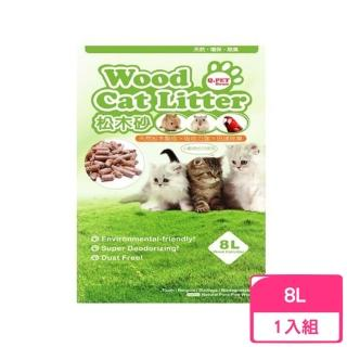 【Q.PET】Wood Cat Litter 松木砂 8L