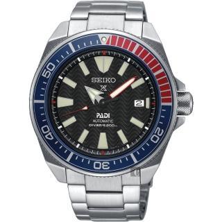 【SEIKO 精工】Prospex PADI 聯名200米潛水機械錶(4R35-01X0D  SRPB99J1)
