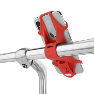 【Bone】Bike Tie 2 單車手機綁 第2代 紅色(自行車手機支架 手機架)