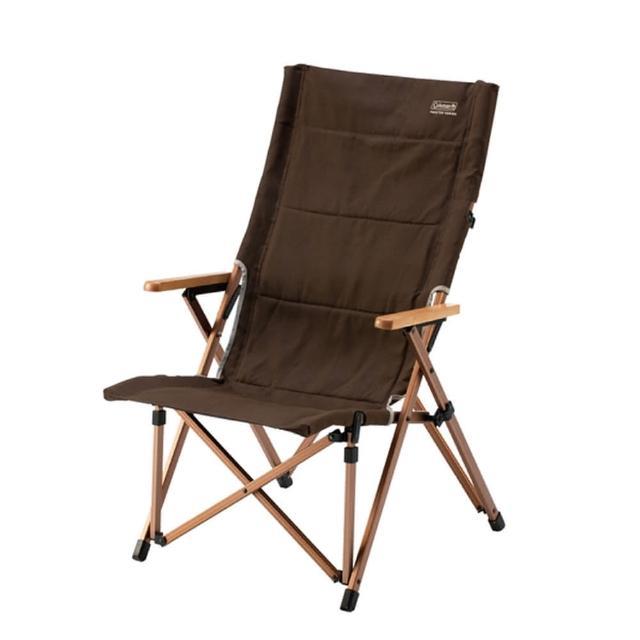 【Coleman】舒適達人帆布高背椅. 鋁合金折合休閒椅.戶外椅.露營椅.折疊椅.看謢椅.烤肉.釣魚(CM-0502J)