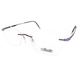 【Silhouette詩樂眼鏡】鈦金屬無框系列(紫#ST5516 C4041)