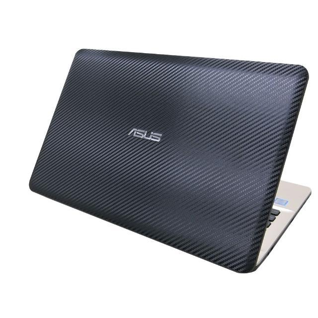 【Ezstick】ASUS X541 X541UV X541NA X541SC 黑色立體紋機身貼(含上蓋貼、鍵盤週圍貼)