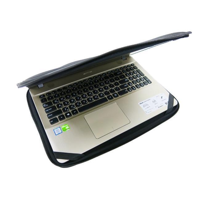 【Ezstick】ASUS X541 X541UV X541NA X541SC NB保護專案 三合一超值防震包組