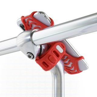 【Bone】Bike Tie Pro 2 單車龍頭綁 第2代 紅(自行車手機支架 手機架)