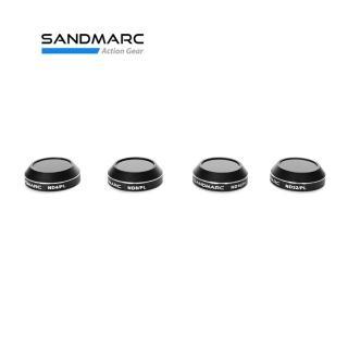 【SANDMARC】DJI Mavic Pro/Platinum 加強進階版 減偏光複合濾鏡組(空拍濾鏡  Mavic濾鏡 Mavic減光鏡)