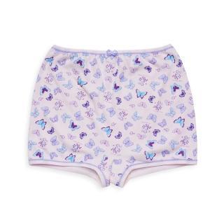 【annypepe】兒童內褲 純棉女童四角褲-花蝶