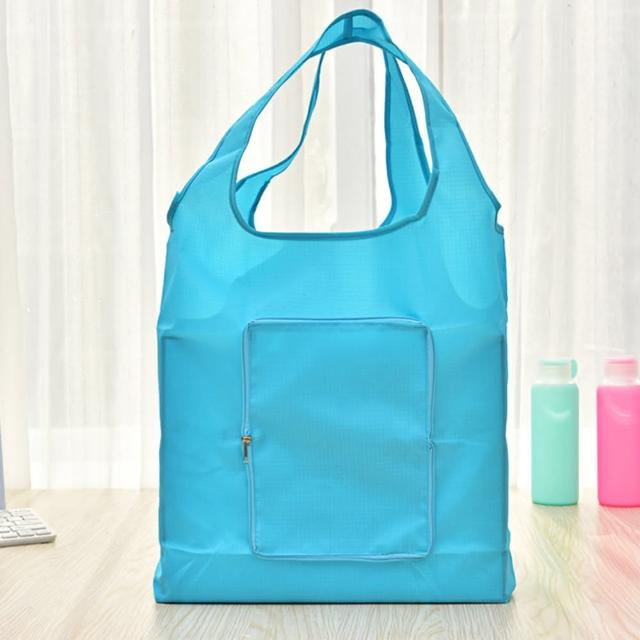 【iSFun】防水素面*環保摺疊輕便購物袋/5色可選
