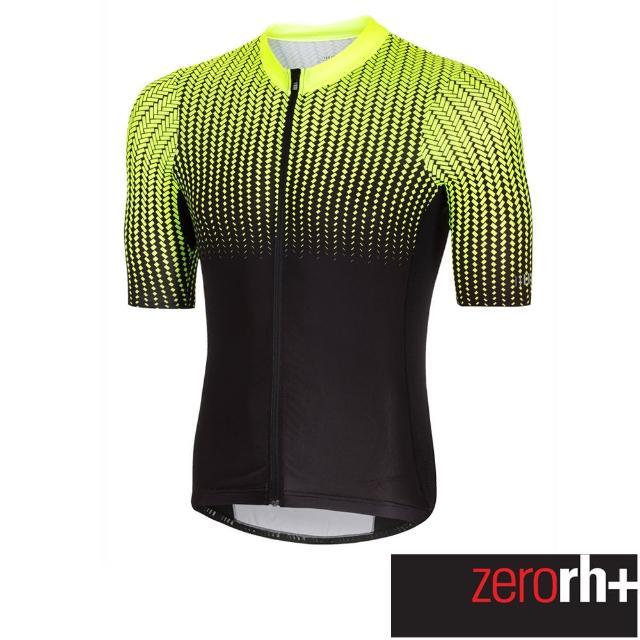 【ZeroRH+】義大利 Matrix 男仕專業自行車衣(螢光黃 ECU0510_917)