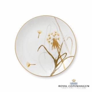 【Royal Copenhagen 皇家哥本哈根】骨瓷盤22cm(芙蘿拉花神-蒲公英)
