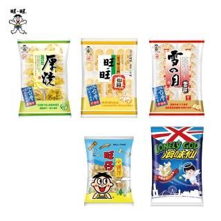 【旺旺】慶讚中元五拜有保庇箱599g(旺旺仙貝/雪餅/厚燒海苔/浪味仙)