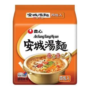【農心泡麵】農心安城湯麵500g(4入/組)