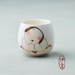 【吳仲宗】胖太太系列 - 百合杯(紅內褲)