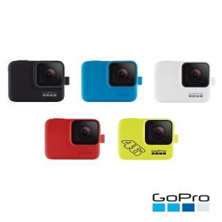 【GoPro】原廠專用矽膠護套+繫繩(ACSST)