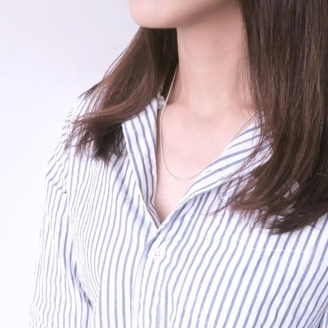 【ART64】經典百搭 極簡小圓鍊/2.0mm寬(18吋925純銀項鍊)