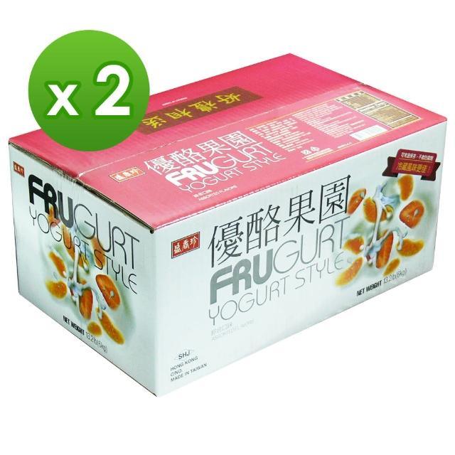 【盛香珍】優酪果園小果凍量販箱6kgx2箱(每箱約170入 共340入)