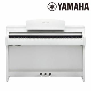 【YAMAHA 山葉】CSP-150 WH 88鍵標準數位電鋼琴 典雅白色款(原廠公司貨 商品保固有保障)