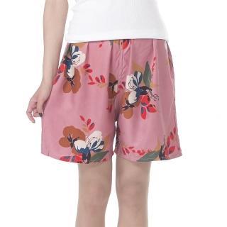 【BELLA SETA 絲綢之鄉】100%蠶絲休閒短褲3件組(彩繪)