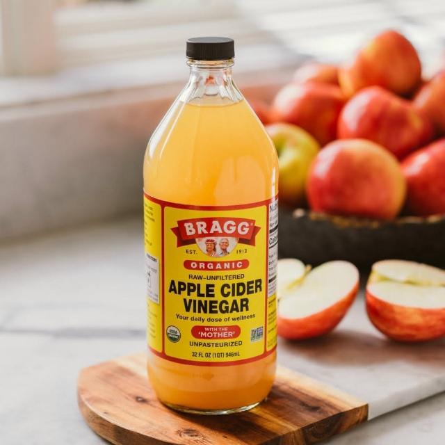 【統一生機】Bragg有機蘋果醋(946ml/瓶)x3瓶