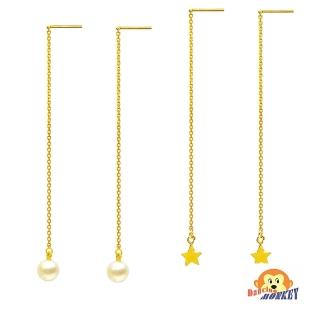 【D.M.】鍾愛珍心黃金耳環