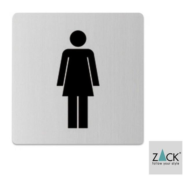 【德國 ZACK】時尚精品 德國 ZACK-女廁LOGO《歐型精品館》(316不鏽鋼18/10)