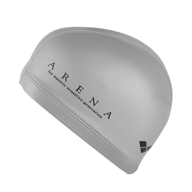 【arena】雙材質泳帽ARN-4419E(雙材質設計 外層防水內層防滑)