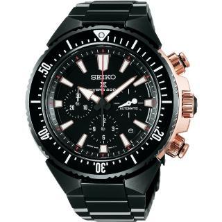 【SEIKO 精工】PROSPEX SCUBA 200米潛水計時械錶-46mm(8R49-00B0SD  SBEC002J)