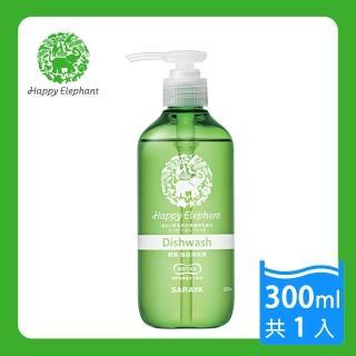 【日本 SARAYA】幸福小象 酵素食器蔬果洗潔精 300ml