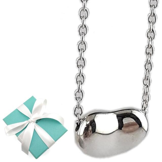 【Tiffany&Co. 蒂芙尼】9mm 經典款相思豆925純銀項鍊